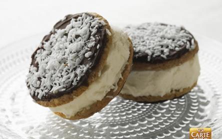 Csokis-vaníliás fagyiszendvics