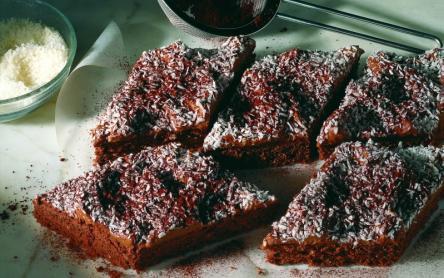 Csokoládés sütemény kókusszal