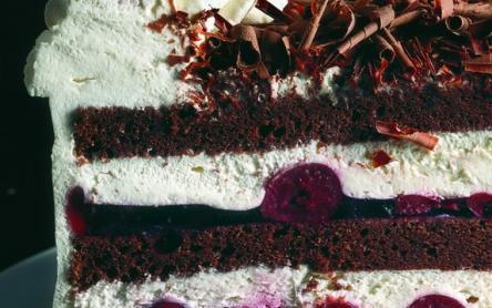 Feketeerdei torta