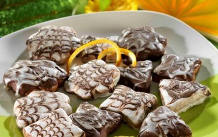 Narancsos-csokoládés keksz