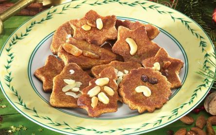 Karácsonyi fűszeres keksz