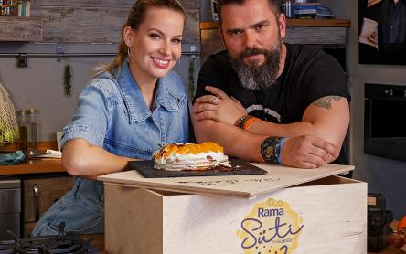 Mádai Vivi & Winkler Robi barackos-mascarponés tortája