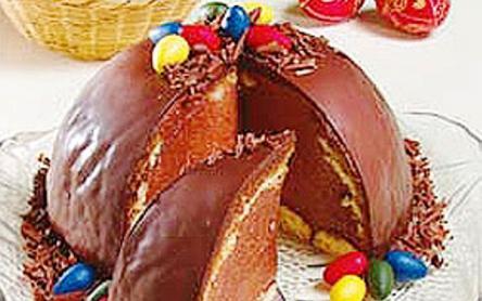 Csokis charlotte húsvétra