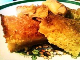 Cukros almás sütemény