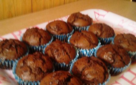Csupa csoki muffin
