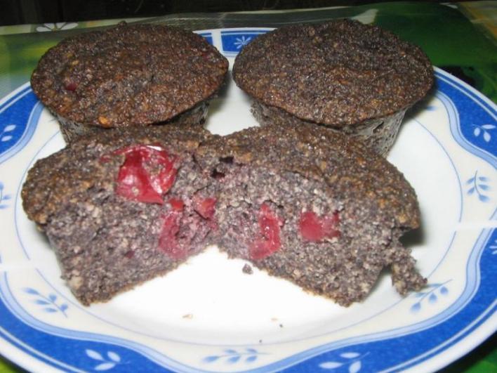 Mákos muffin  glutén tartalmú összetevő nélkül