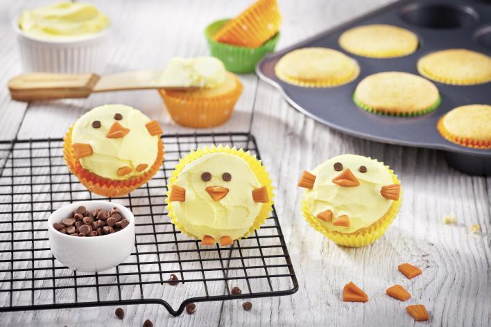 Húsvéti kiscsibe muffin