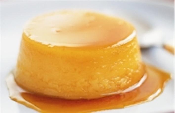 Narancsos krém (flan de naranja)