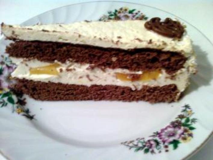 Tojáslikőrös torta