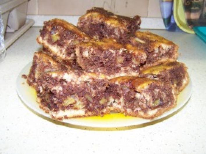Ananászos boci süti