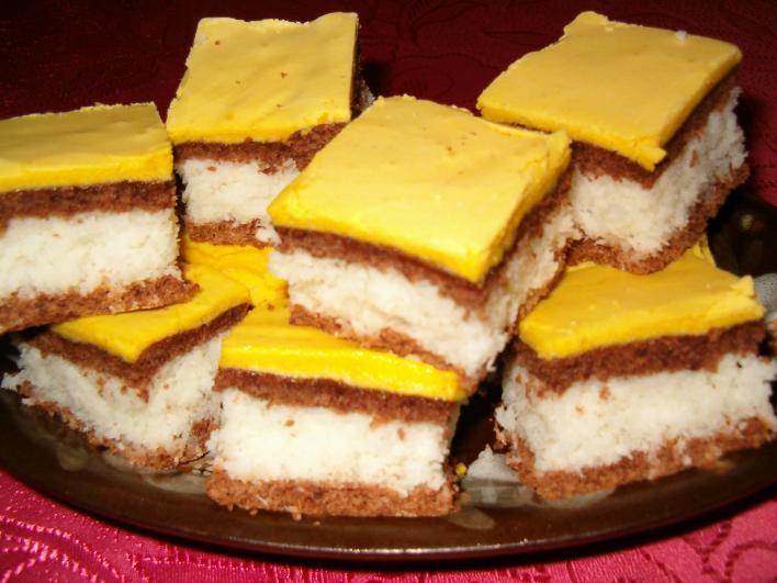 Marika kókuszos sütije