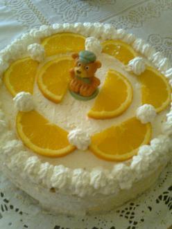 Narancsos torta