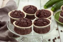 Csokis cukkinis muffin - laktózmentes recept