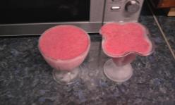 Házi eperfagylalt