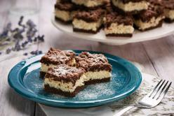 Reszelt túrós sütemény