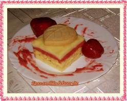 Epres-vaníliás kekszes pite
