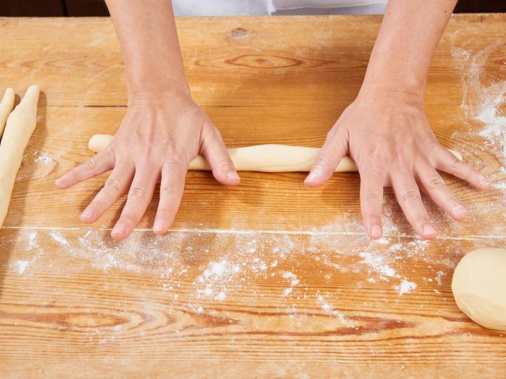 Húsvéti foszlós kalács elkészítés 7. lépés képe