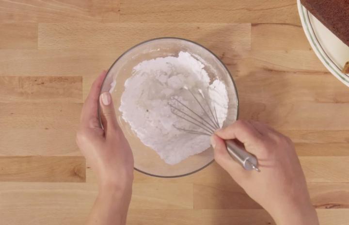Mézes-gyömbéres sütemény  elkészítés 4. lépés képe