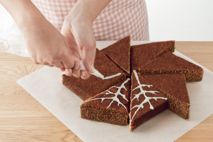 Mézes-gyömbéres sütemény  elkészítés 5. lépés képe